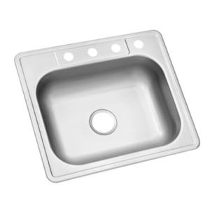 Glacier Bay Sink Kitchen 22 X25 X6 Stainless Steel